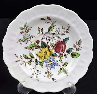 Booths china, Flowerpiece pattern, salad plate