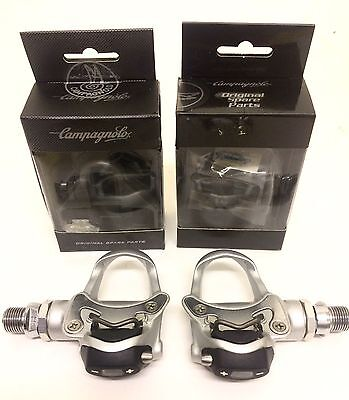 NOS Campagnolo Chorus Pro Fit Pedals + Pedals Cleat + Engaging Hooks