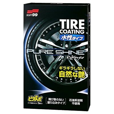 SOFT99 PURE SHINE  Water-Based Tire Coating