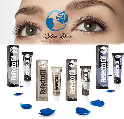 Refectocil Eyebrow Tint Black Natural Brown Eyelash Tinting Dye Henna 15ml BEST
