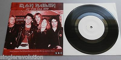 "Iron Maiden - At The BBC 1979 White Label 7"" Single P/S"