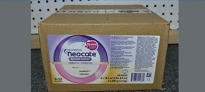64 cans (16 cases) 14.1 oz NEOCATE SYNEO INFANT by Nutricia New Sealed Cases