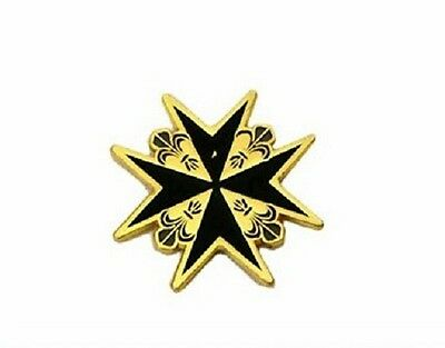 Knights Templar Malta Cross Magnet 3 colours Available Metal