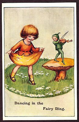 Postcard: Dancing in the Fairy Ring - Not Posted - Very Fine.
