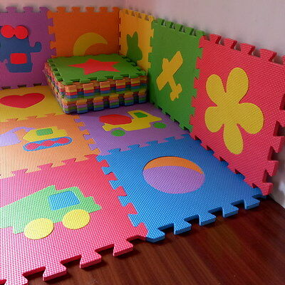 Play Mat Floor Puzzle Baby Foam Kids Soft Gym Crawling Toddler Activity Toy Play