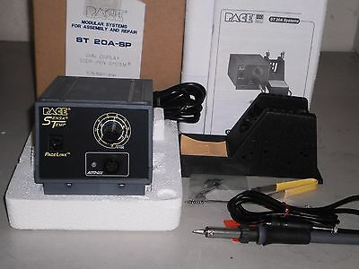 Soldering Station, Pace ST 20A-SP Dial Display, SODR-PEN System