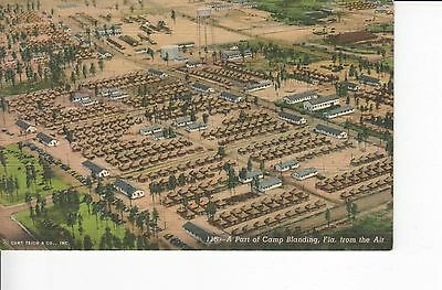 Aerial View: Part of Camp Blanding, Florida 1940s