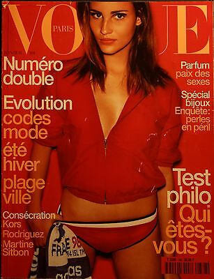 Magazine VOGUE Paris - #788 - Juin/Juillet 1998