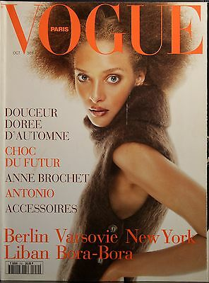 Magazine VOGUE Paris - #750 - Octobre 1994