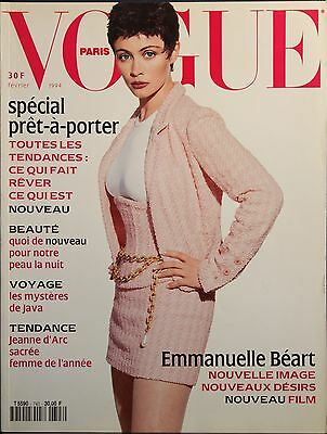 Magazine VOGUE Paris - #743  Février 1994