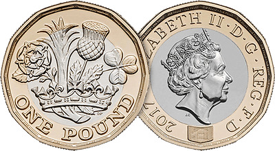 2017 Dated £1 Coin - Uncirculated - Not 2016 - Free P&P