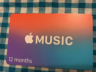 Apple Music Gift Card - 12 Months