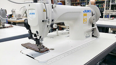 JUKI DU-1181N Single Needle Walking Foot Leather Sewing Machine w/ Servo