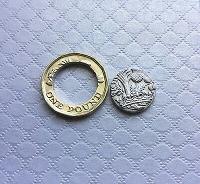 2016 new £1 Coin UNCIRCULATED in 2 parts ! 12 Sided 1 Pound
