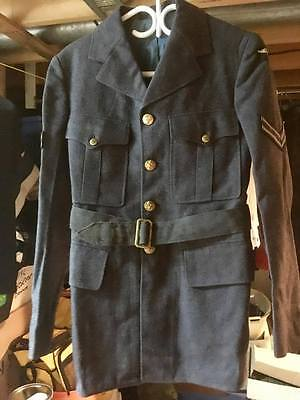 WW2 Canadian 1942 Dated RCAF Tip Top Tailor Overseas Wool Tunic Corporal