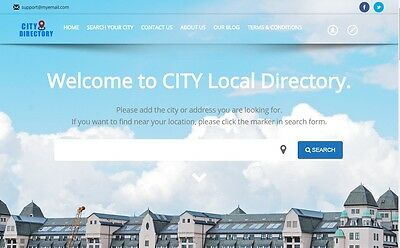 Local Business Listing Directory - Profitable Website for Sale