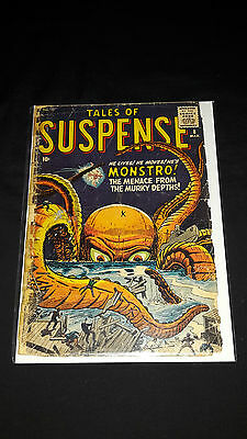 Tales of Suspense #8 - Marvel Comics - March 1960 - 1st Print - Monstro!