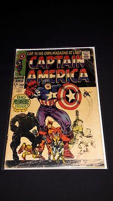 Captain America #100 - Marvel Comics - April 1968 - 1st Print - Origin