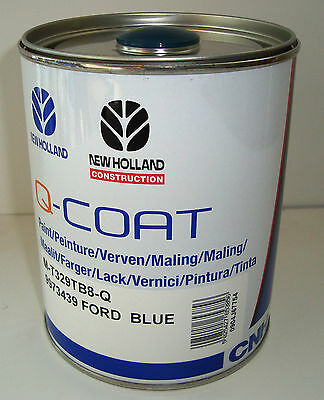 9973413 Paint 1Lt Blue Ford First Series Fiat Tractor