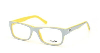 2e9d6fa0cda New Ray-Ban Rb 5268 5375 Grey Yellow Eyeglasses Authentic Frames Rx Rb5268  48-