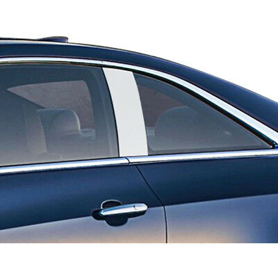 2pc Luxury FX Stainless Pillar Post Trim for 2015-2019 Cadillac ATS 2dr Coupe