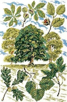 NEW EHRMAN WOODLAND tapestry needlepoint VINTAGE KIT DISCONTINUED DAVID MERRY