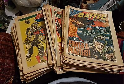 BATTLE Action Comic - 1978 - Full set of 52 comics - job lot