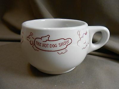 New Orleans Est HOT DOG SHOW restaurant Burbank 57 COFFEE CUP Los Angeles China