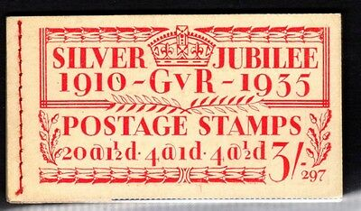 """SG. BB28. """" 3/- """". Edition number 297. A very fine complete example."""