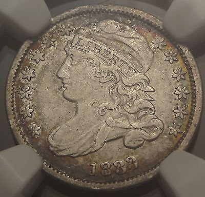 NGC VF35 1833 Capped Bust Dime ~ Great 5c Type Coin