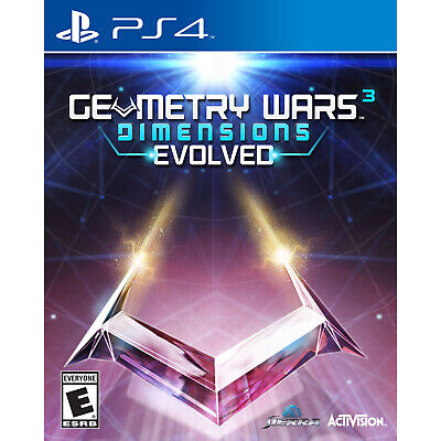 Geometry Wars 3: Dimensions Evolved PS4 [Factory Refurbished]