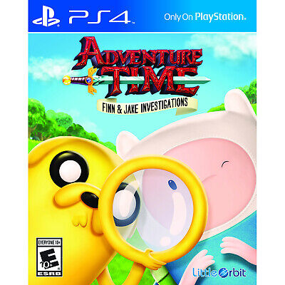 Adventure Time: Finn & Jake Investigations PS4 [Factory Refurbished]