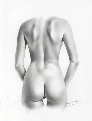 Ewa Gawlick - Contemporary Graphite Drawing, Female Nude