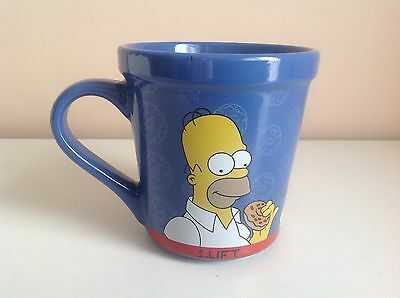 """Collectible The Simpsons Large """"Lift, Open, Eat, Repeat"""" Ceramic Cup/Mug"""