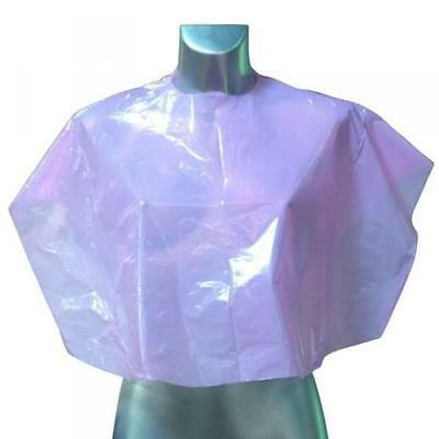 Dmi Disposable Shoulder Capes Pink X 100 Capes Tie Fastening