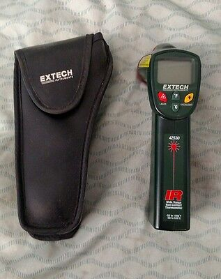 Extech Digital Infrared IR Wide Range Non-Contact Thermometer HVAC AC Tool 42530