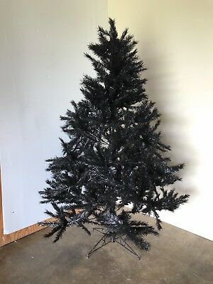 Black 6FT Christmas Tree, Artificial - FREE SHIPPING