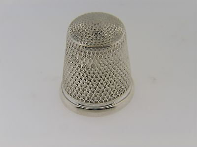 Vintage Antique .925 Sterling Silver Thiimble