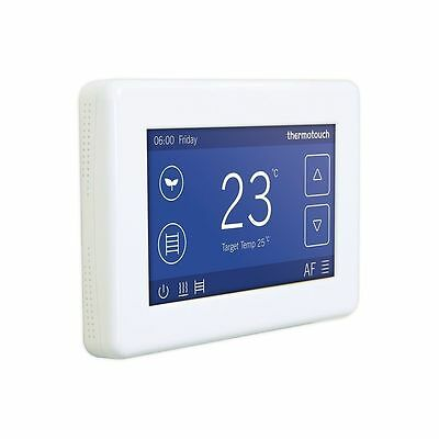 New Thermostat for underfloor heating Thermotouch 4.3dC Dual Control 5245