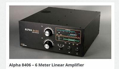 RF Concepts Alpha 8406 HF Linear Amplifier