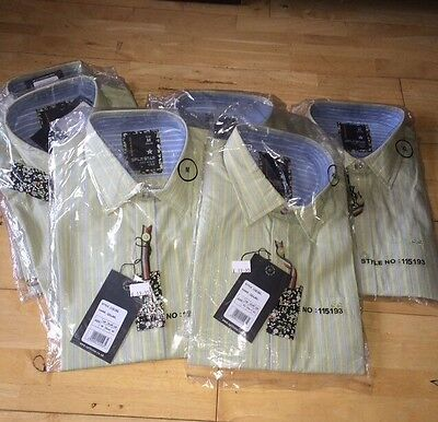 Brand New With Tags Men's Work Shirts Job Lot M,l, xl