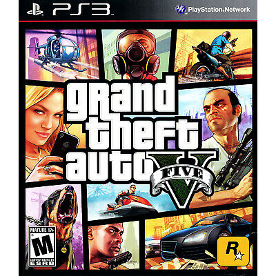 Grand Theft Auto V PS3 [Factory Refurbished]