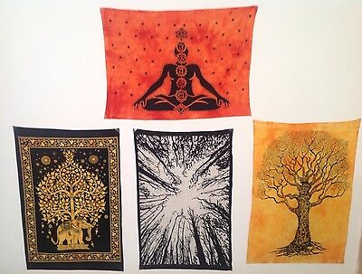 Tapestry wall hanging art x4 New