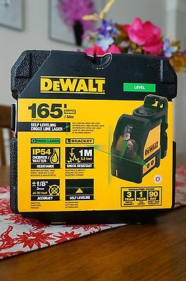 DEWALT 12V Self-Leveling Green Cross Line Laser DW088CG