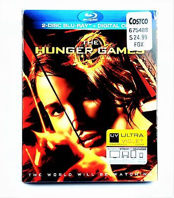 The Hunger Games Blu-ray Disc, 2012, 2-Disc Set #Z4R