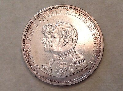 1898 Portugal 500 Reis - The 400th Anniversary of the Discovery of India