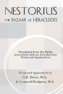 The Bazaar of Heracleides by Nestorius Paperback Book (English)