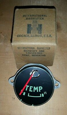 58-60 IHC International Harvester Travelall Travelette Pickup temp gauge NOS