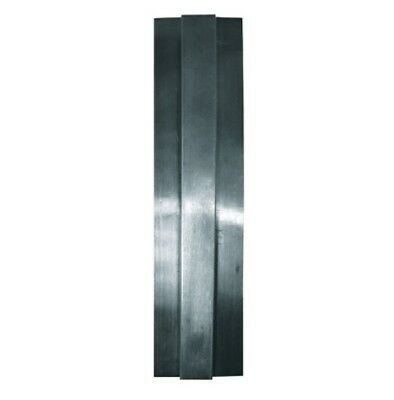 Stainless Steel Divider Bar with 400 Series Satin Finish - 6.5ft Long