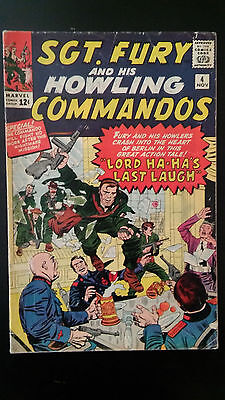 Sgt. Fury and his Howling Commandos #4